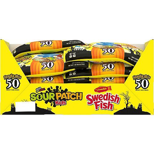 Sour Patch Kids & Swedish Fish Spooky Mix, 50pc Image #2