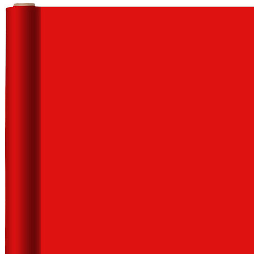 Nav Item for Jumbo Solid Bright Red Gift Wrap Image #1