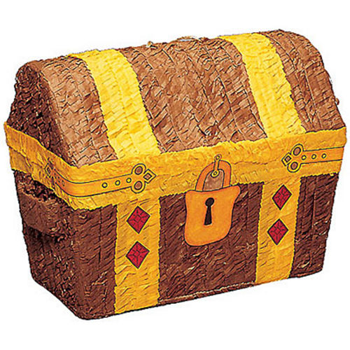 Treasure Chest Pinata Image #1
