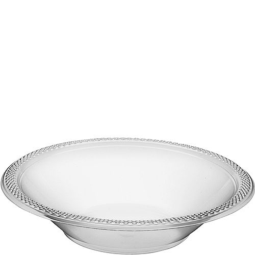 CLEAR Plastic Bowls 20ct Image #1