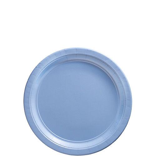 Pastel Blue Paper Dessert Plates 20ct Image #1