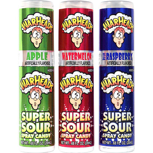Warheads Super Sour Spray Candy Image #1