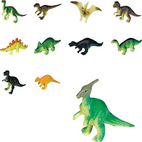 Toy Prehistoric Dinosaurs 36ct Image #1