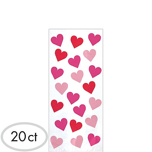 Small Key to Your Heart Treat Bags 20ct Image #1