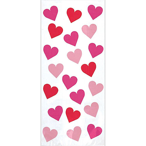 Large Key to Your Heart Treat Bags 20ct Image #1