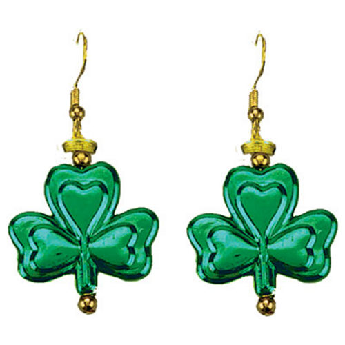 Dangling Shamrock Earrings Image #1