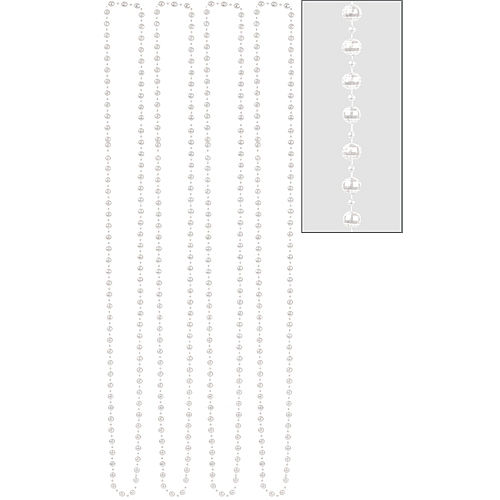 Pearl Bead Necklaces 4ct Image #1