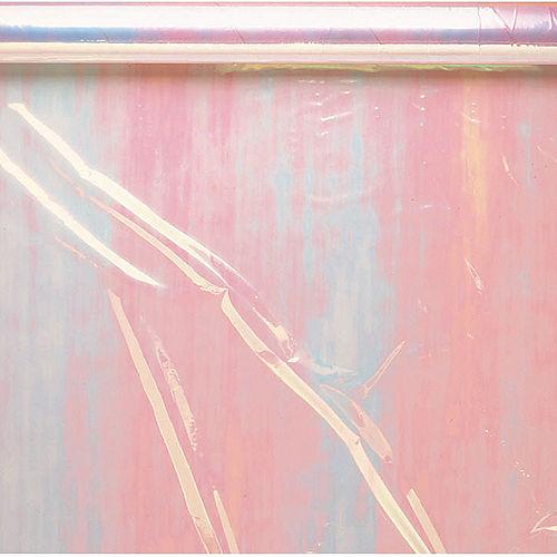 White Iridescent Cello Wrap Image #1