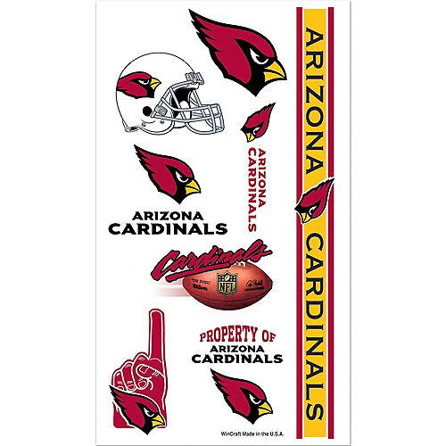Arizona Cardinals Tattoos 10ct Image #1