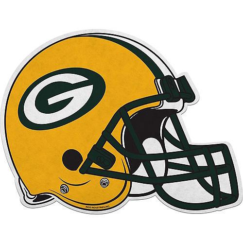Green Bay Packers Helmet Pennant Image #1