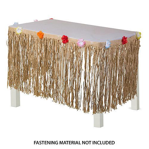 Natural Tissue Table Skirt Image #1