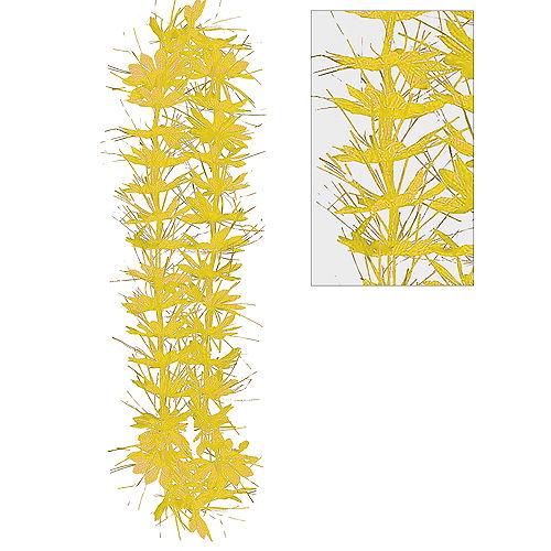 Yellow Tinsel Lei Image #1