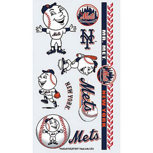 New York Mets Tattoos 10ct Image #1