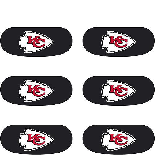 Kansas City Chiefs Eye Black Stickers 6ct Image #2