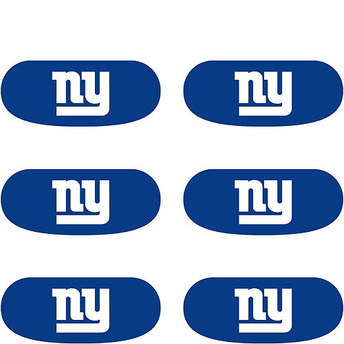 New York Giants Eye Black Stickers 6ct Image #2
