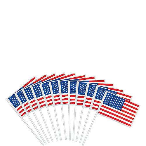 American Flags 12ct Image #1