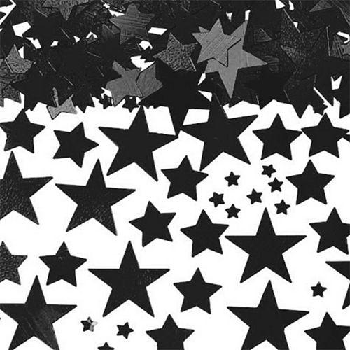 Black Star Confetti Image #1
