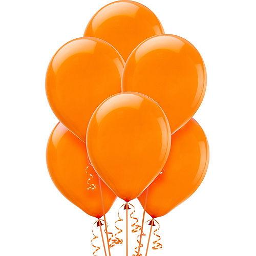 Orange Balloons 72ct, 12in Image #1