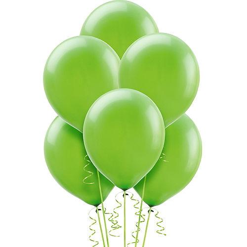 Kiwi Green Balloons 72ct, 12in Image #1