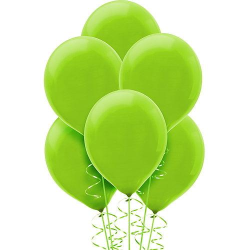 Kiwi Green Balloons 15ct, 12in Image #1
