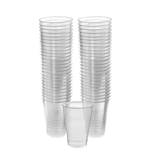 CLEAR Plastic Cups, 12oz, 50ct Image #1