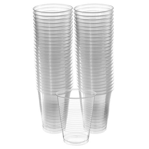 CLEAR Plastic Cups, 16oz, 50ct Image #1