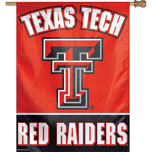 Texas Tech Red Raiders Banner Flag Image #1