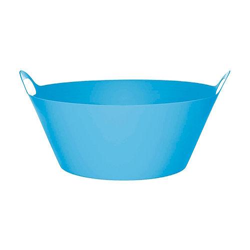 Blue Plastic Party Tub Image #1