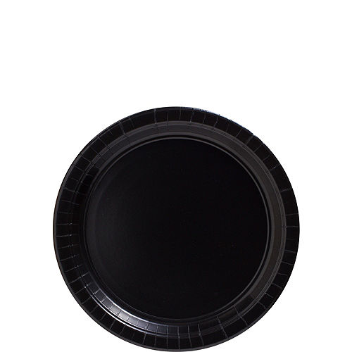 Black Paper Dessert Plates, 6.75in, 50ct Image #1