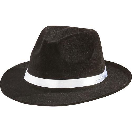 Black Gangster Hat Image #1