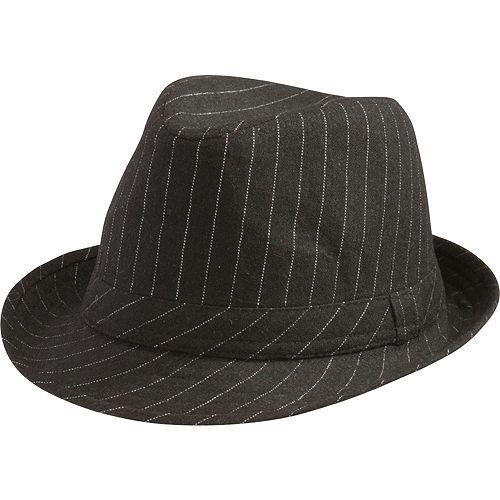 Pinstripe Fedora Hat Image #1