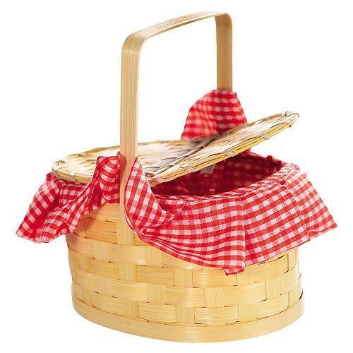 Gingham Basket Image #1