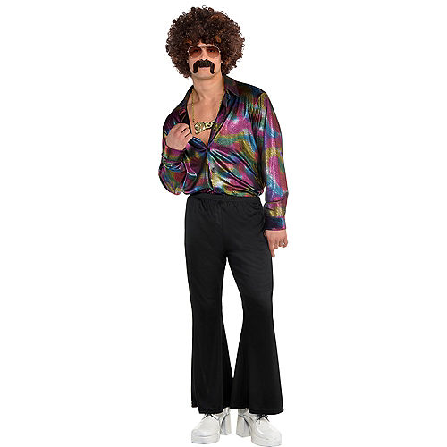 Adult Disco Shirt Image #1