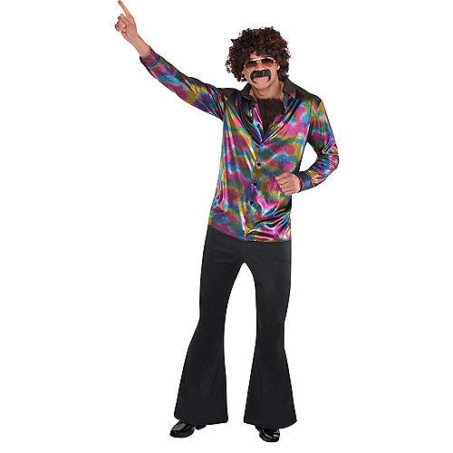 Adult Disco Shirt Image #2