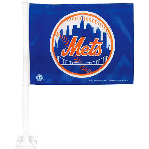 New York Mets Car Flag Image #1
