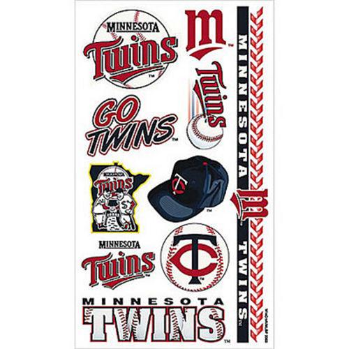 Minnesota Twins Tattoos 10ct Image #1