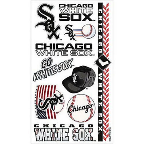 Chicago White Sox Tattoos 10ct Image #1