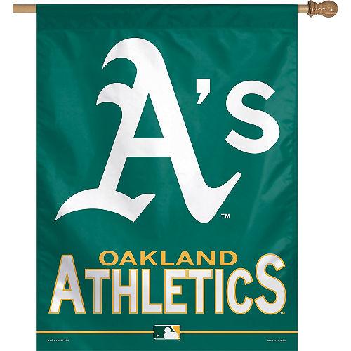 Oakland Athletics Banner Flag Image #1