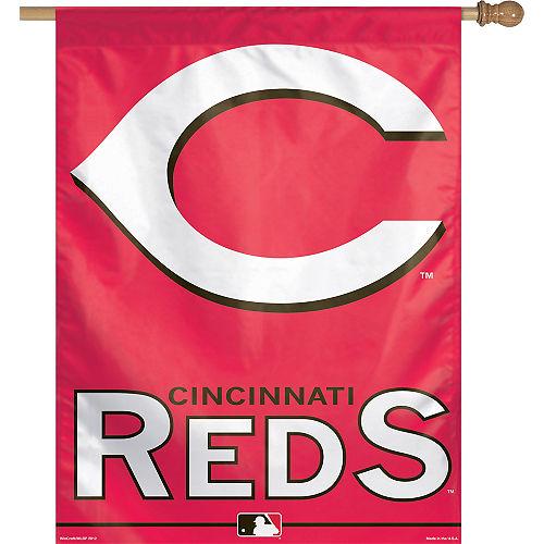 Cincinnati Reds Banner Flag Image #1
