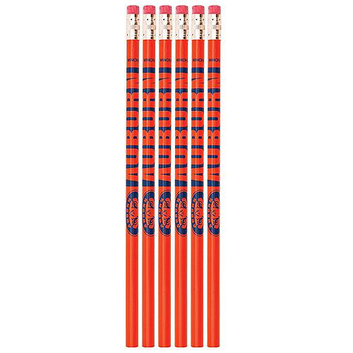 Auburn Tigers Pencils 6ct Image #1