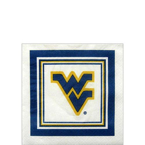 West Virginia Mountaineers Beverage Napkins 16ct Image #1