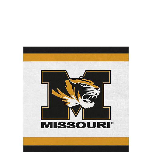 Missouri Tigers Beverage Napkins 24ct Image #1