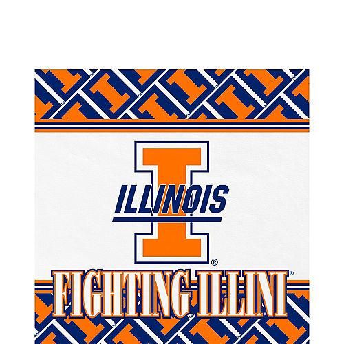 Illinois Fighting Illini Lunch Napkins 20ct Image #1