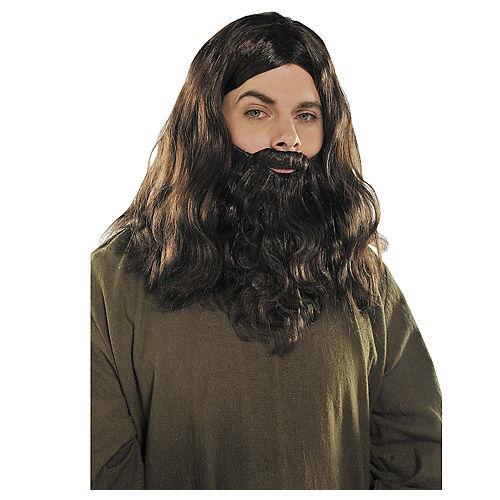 Hippie Wig & Beard Image #1