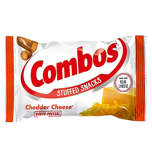 Combos Stuffed Baked Pretzel Snacks, 1.7oz - Cheddar Cheese Image #1