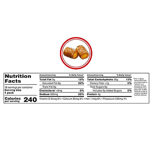 Combos Stuffed Baked Pretzel Snacks, 1.7oz - Cheddar Cheese Image #3