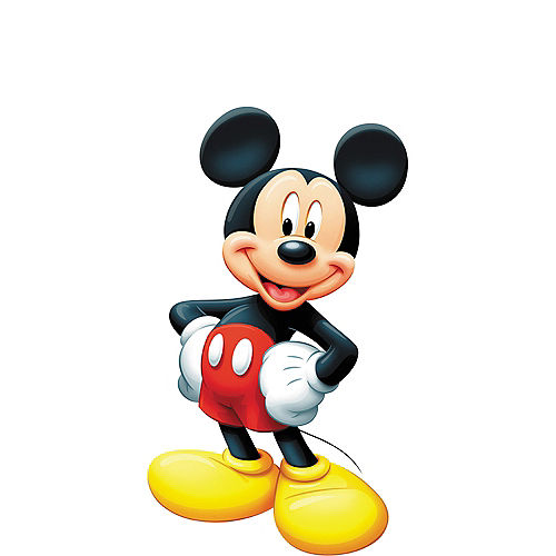 Mickey Mouse Life-Size Cardboard Cutout Image #1