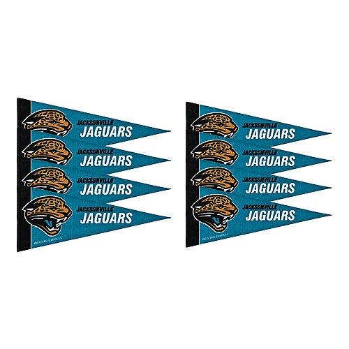 Jacksonville Jaguars Pennants 8ct Image #1