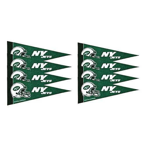 New York Jets Pennants 8ct Image #1