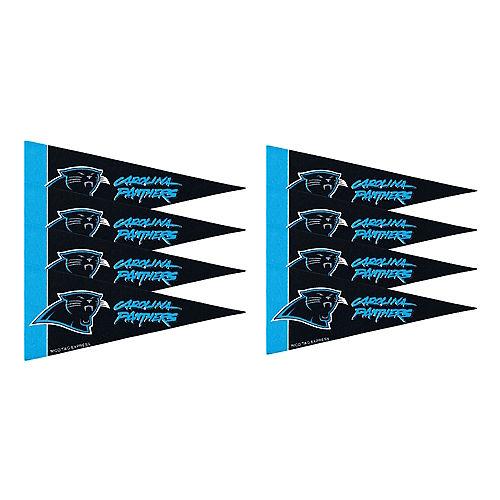 Carolina Panthers Pennants 8ct Image #1